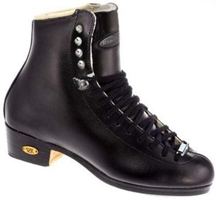 Riedell 25 TS J Ice Skate Black Boot