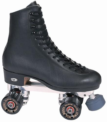 Riedell 297 B Advantage Super Elite - Black / Black wheels