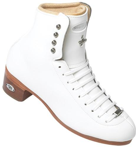 Riedell 435 TS Figure Boots White