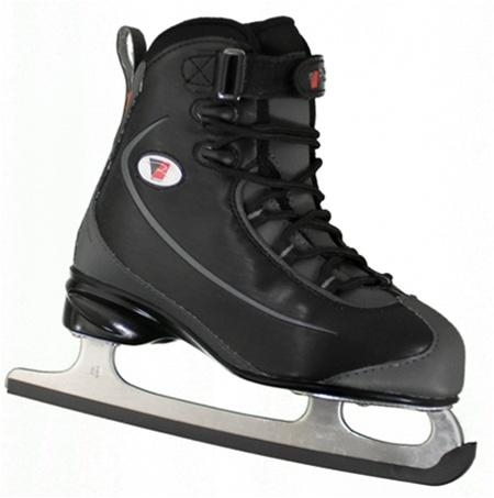 Riedell Ice Skates Junior 8 Lace Up SUPER DEAL- BLACK