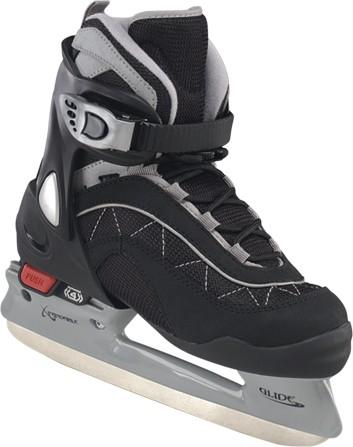 Adjustable Soft Boot Youth Ice Skates for child ice hockey