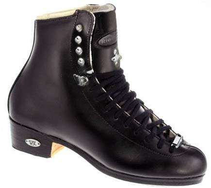 Riedell 87 TS Figure Boots Junior Black