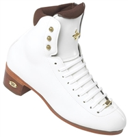 Riedell 91 LS Figure Boots Junior White