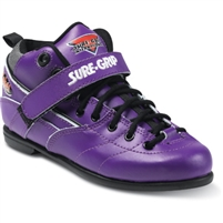 Sure-Grip Rebel Skates Boot Purple