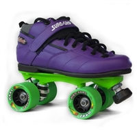 Rebel Deluxe Roller Girl Edition Skates