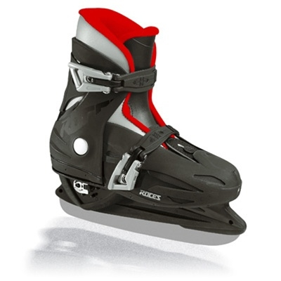 Roces MCK Adjustable Ice Skates JR Black