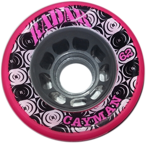 Riedell Cayman Speed Wheels Pink