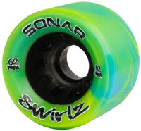 Riedell Sonar Swirlz indoor quad speed wheels 62mm 8 set