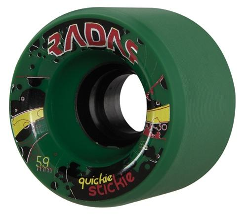 Radar Quickie Stickie skate wheels 59mm x 43mm