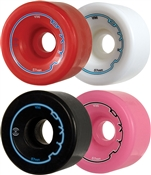 The Radar Riva Roller Skate Wheels are recommended for indoor
