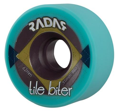 Radar Tile Biter skate wheels 62mm x 31mm SLIM  SET OF 8