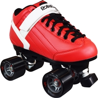 RollerDerby Elite Stomp Factor 5 red