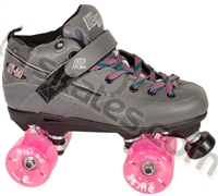 Sure Grip Grey GT50 Pulse Pink Roller Skate