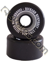 Richard Humphrey Rollerbones Rhythm Roller Skate Wheels 57mm x 98a SILVER
