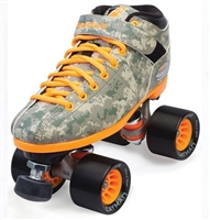 Riedell R3 Camo Speed Roller Skates
