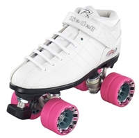 Riedell R3 skates for indoor speed skating