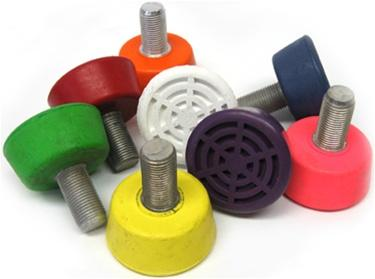 "Sure-grip 5/8"" artistic adjustable stoppers"