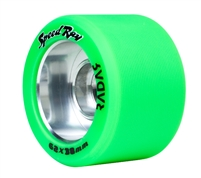 Radar Speed Ray Roller Skate Wheels 64 x 38mm - 4 set