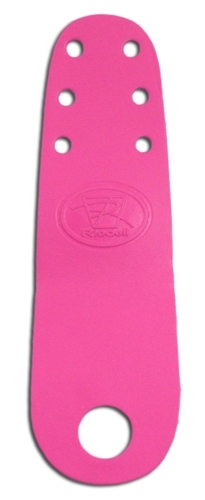 Riedell Roller Skate Triple Lace Toe Guards - Hot Pink