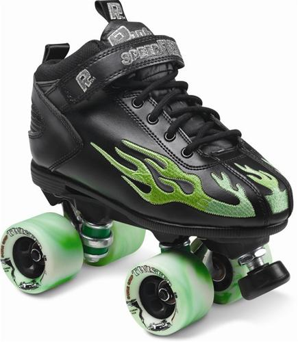 Rock skates Green Boot Twister Wheels