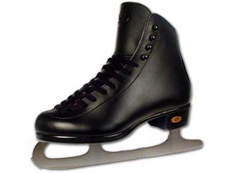 Riedell Ice Skates 110 Mens Black Recreational Set