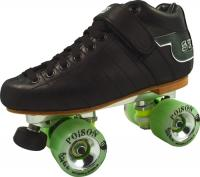 Sure Grip S75 Power-Trac Poison Alloy Speed Skate