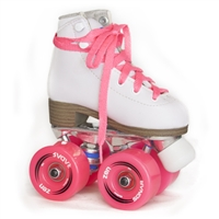 Sure-Grip Baby Zen Junior White roller skates