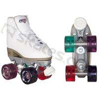 Sure-Grip roller skates Fame White MULTI COLOR