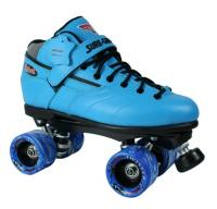 Sure-Grip Rebel Twister Roller Skates - Blue Boot