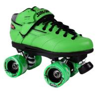 Sure-Grip Rebel Twister Roller Skates - Green Boot