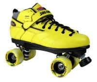 Sure-Grip Rebel Twister Roller Skates - Yellow Boot