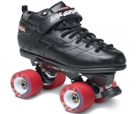 Sure-Grip Black Rebel Avenger Roller Skates