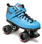 Sure-Grip Rebel Fugitive Roller Skates - Blue Boot