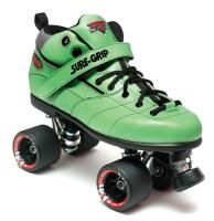 Sure-Grip Rebel Fugitive Roller Skates - Green Boot