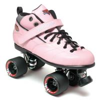 Sure-Grip Rebel Fugitive Roller Skates - Pink Boot