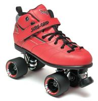 Sure-Grip Rebel Fugitive Roller Skates - Red Boot