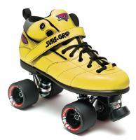 Sure-Grip Rebel Fugitive Roller Skates - Yellow Boot
