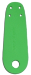 Sure-Grip Roller Skate Toe Guards - Green
