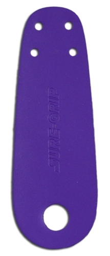 Sure-Grip Roller Skate Toe Guards - Purple
