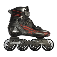 Seba Trix 10 Black/Red Inline Skates - Limited Edition