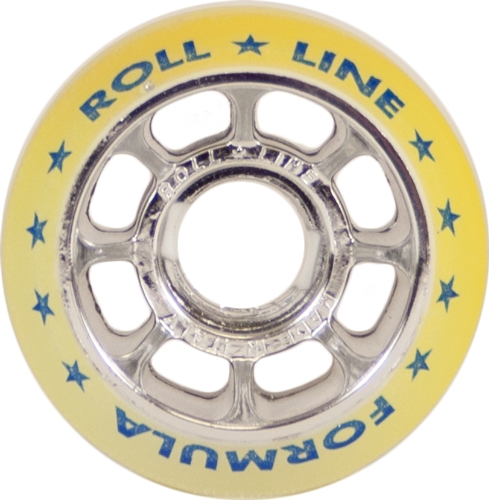 Roll-Line Formula 88A 62mm wheels - Discolored