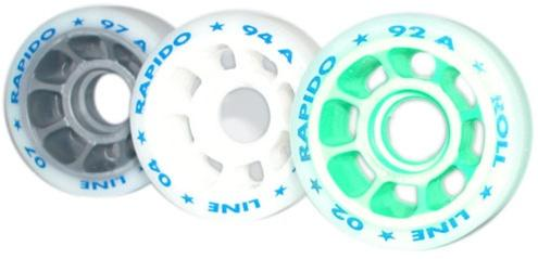 RRAPIDO 62mm Standard Ultra-Lite Dance Wheels