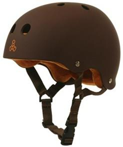 Triple 8 Brainsaver Helmet - BROWN RUBBER