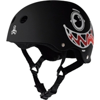 Triple 8 Brainsaver Multi Impact Helmet - Maloof Black
