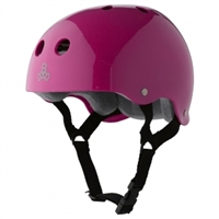 Triple 8 Brainsaver SS Helmet - Pink Gloss