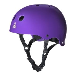 Triple 8 Brainsaver Sweatsaver Helmet PURPLE