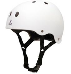 Triple 8 Helmets WHITE RUBBER