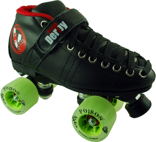 Vanilla Renegade Poison Slim Derby Skate Package