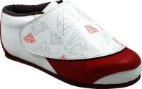 Vanilla Diamond Boots - White/Red