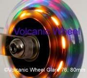 76mm light up wheels - sold individually